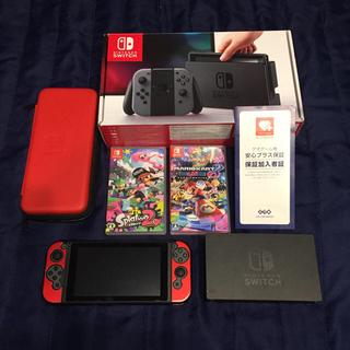ニンテンドースイッチ(Nintendo Switch)の任天堂 switch スプラトゥーン2 マリオカート8 セット(家庭用ゲーム本体)