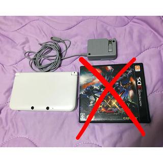 ニンテンドー3DS(ニンテンドー3DS)の3DS LL アダプター付(携帯用ゲーム本体)