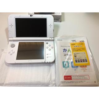 ニンテンドー3DS(ニンテンドー3DS)の新品・未使用 3DS LLパールホワイト(携帯用ゲーム本体)