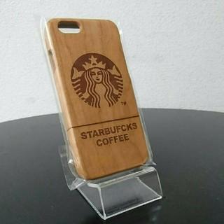 新型 ウッドケース iphone6/6s スタバ ケース k3k.zk (iPhoneケース)