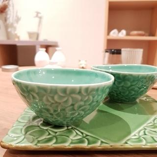 ジェンガラ(Jenggala)のジェンガラ jenggala バリ 食器 お茶碗 スクエアプレート  セット(食器)