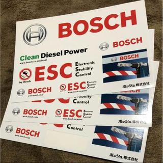 ボッシュ(BOSCH)の値下げ! 車 ステッカー レア 3枚セット BOSCH(車外アクセサリ)