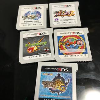 ニンテンドー3DS(ニンテンドー3DS)の3DSソフトまとめ売り(携帯用ゲームソフト)