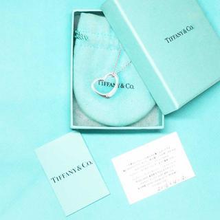 ティファニー(Tiffany & Co.)の未使用 ティファニー オープンハートネックレス 22mm(ネックレス)
