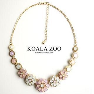 【特価品】KOALA ZOO 天然石ネックレス サイズ調整可能 L4(ネックレス)