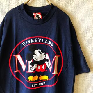 ディズニー(Disney)の【90s deptstock】日本未発売 ミッキー Tシャツ メンズ L タグ付(Tシャツ/カットソー(半袖/袖なし))