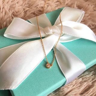 ティファニー(Tiffany & Co.)のお値下げ!美品❤︎Tiffany バイザヤード ローズゴールド❤︎(ネックレス)