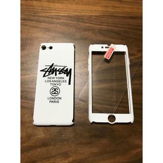 ステューシー(STUSSY)の新品 stussy iphone7 360°フルカバーケース 白(iPhoneケース)