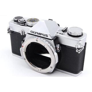 オリンパス(OLYMPUS)の美品■Olympus M-1 シルバー フィルム一眼レフカメラ ボディ◆U860(フィルムカメラ)
