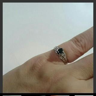 サファイア指輪(リング黒ずみあり)(リング(指輪))