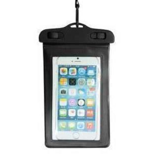 TA225 スマホ防水ケース iphone7 iphone8 iphoneX 黒(チャーム)