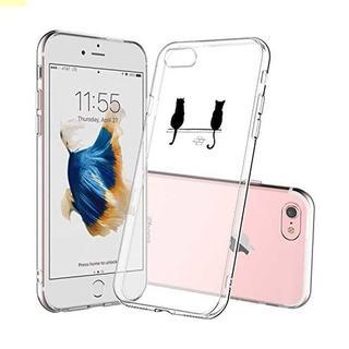 iphone7ケース、UCMDA 高品質 TPU 透明 シリコン かわ(iPhoneケース)