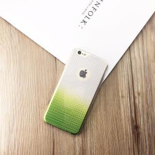 iPhone6/6s スマホケース アイフォンケース 緑 グリーン <2>(iPhoneケース)