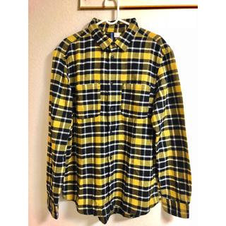エイチアンドエム(H&M)の新品未使用タグ付き!チェックシャツ 長袖 Mサイズ ネルシャツ 送料無料(シャツ)