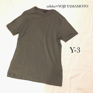 アディダス(adidas)の美品 アディダス ×山本耀司 Y-3 Tシャツ(Tシャツ/カットソー(半袖/袖なし))