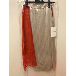 バーニーズニューヨーク(BARNEYS NEW YORK)のtarohoriuchi 今期スカート 未使用タグ付き(ひざ丈スカート)