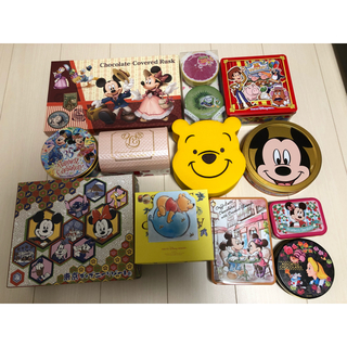 ディズニー(Disney)のDisney空缶・空箱(キャラクターグッズ)