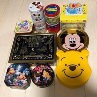 ディズニー(Disney)のディズニー空缶・空箱(小物入れ)