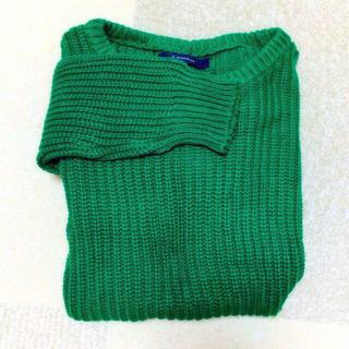 レイジブルー(RAGEBLUE)のざっくり編み ニットセーター(ニット/セーター)