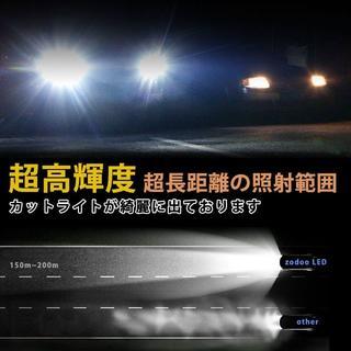 LEDヘッドライト H4 Hi/Lo 車検対応 ワンタッチ取付(車外アクセサリ)