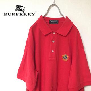 バーバリー(BURBERRY)の★ばんぶー様専用★ Burberrys バーバリー ポロシャツ  レッド USA(ポロシャツ)