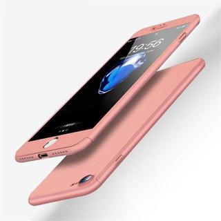 TA341 メタリックフルカバー iphone8 7 ガラスフィルム付ピンク(チャーム)