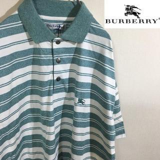 バーバリー(BURBERRY)のデッドストック☆ burberrys バーバリー ワンポイント ロゴ  90s(ポロシャツ)