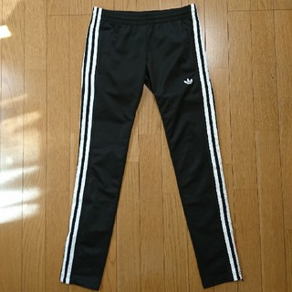アディダス(adidas)の【極美品】adidas originals スキニートラックパンツ ブラック(その他)