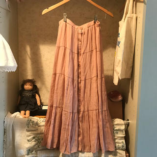 france vintage skirt.(ロングスカート)