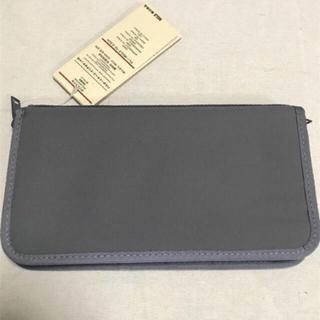 ムジルシリョウヒン(MUJI (無印良品))の無印良品 パスポートケース クリアファイル付き(ポーチ)