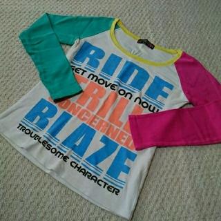 カラフル 長袖 ロングTシャツ 可愛い ANAP COCOLULU WEGO(Tシャツ(長袖/七分))