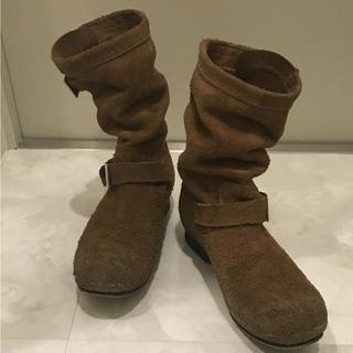 イサムカタヤマバックラッシュ(ISAMUKATAYAMA BACKLASH)のバックラッシュ ステアスウェードブーツ size25.5cm(ブーツ)