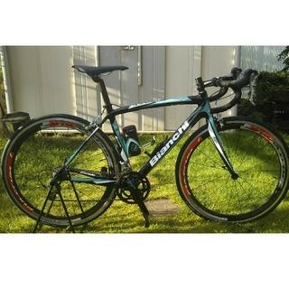 ビアンキ(Bianchi)のビアンキ カーボンロードバイク フルクラム,,,レッドウィンド(自転車本体)