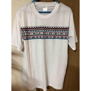 新品タグ付き メンズ 白 Tシャツ M ザラ H&M アズール系