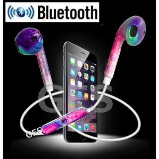 ★柄入り Bluetooth4.1 ワイヤレス イヤホン