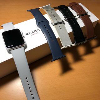 アップルウォッチ(Apple Watch)のApple Watch series3 セルラー 42mm バンドセット(その他)