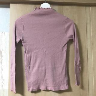 メルロー(merlot)のハイネック Tシャツ(Tシャツ(長袖/七分))