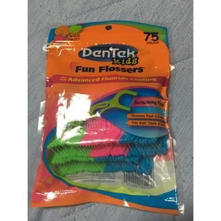 歯間ブラシ フロス 子供 《8月末までの出品》(歯ブラシ/デンタルフロス)