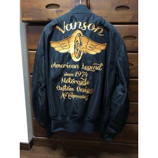 バンソン(VANSON)のvanson バンソン メッシュジャケット(ライダースジャケット)