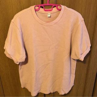 ユニクロ(UNIQLO)のユニクロワッフル クルーネックT(Tシャツ(長袖/七分))