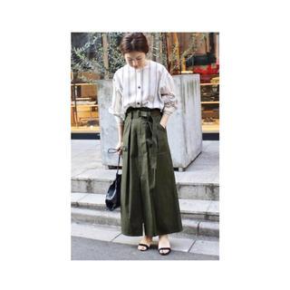 イエナ(IENA)のCURRENTAGE SAFFARI スカート(ロングスカート)