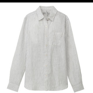 ムジルシリョウヒン(MUJI (無印良品))の無印良品 ストライプシャツ&ワイドシャツ M(シャツ/ブラウス(長袖/七分))
