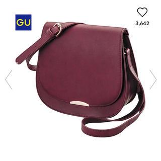 ジーユー(GU)の9* 新品未使用 ジーユー サドルショルダーバッグ bag ユニクロ  しまむら(ショルダーバッグ)