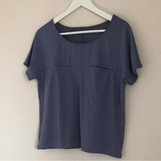ジーユー(GU)の美品♡トレーニング・ランニング・フィットネスTシャツ(トレーニング用品)