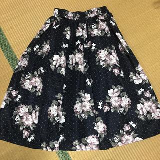 シマムラ(しまむら)の❁しまむら❁新品❁花柄スカート(ロングスカート)