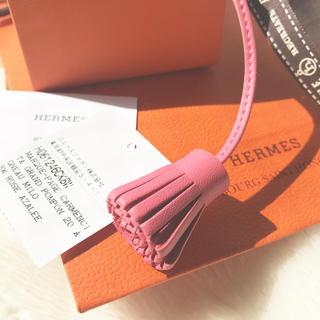 エルメス(Hermes)のエルメス  未使用 カルメンチータ  20 ローズアザレ(チャーム)
