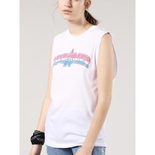 ディーゼル(DIESEL)の新品未使用 DIESEL 今期 タンクTシャツ T-SOLARI-H  Sサイズ(Tシャツ(半袖/袖なし))