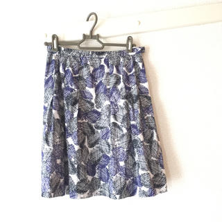 デザイン 夏 スカート (ひざ丈スカート)