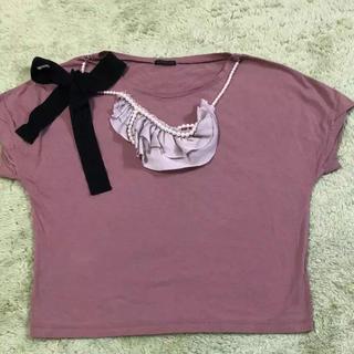 クローラ(CROLLA)のCROLLA ネック付き Tシャツ(Tシャツ(半袖/袖なし))