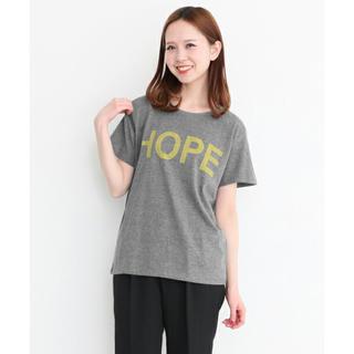 ケービーエフ(KBF)のKBF HOPE前後プリントTシャツ 美品(Tシャツ(半袖/袖なし))